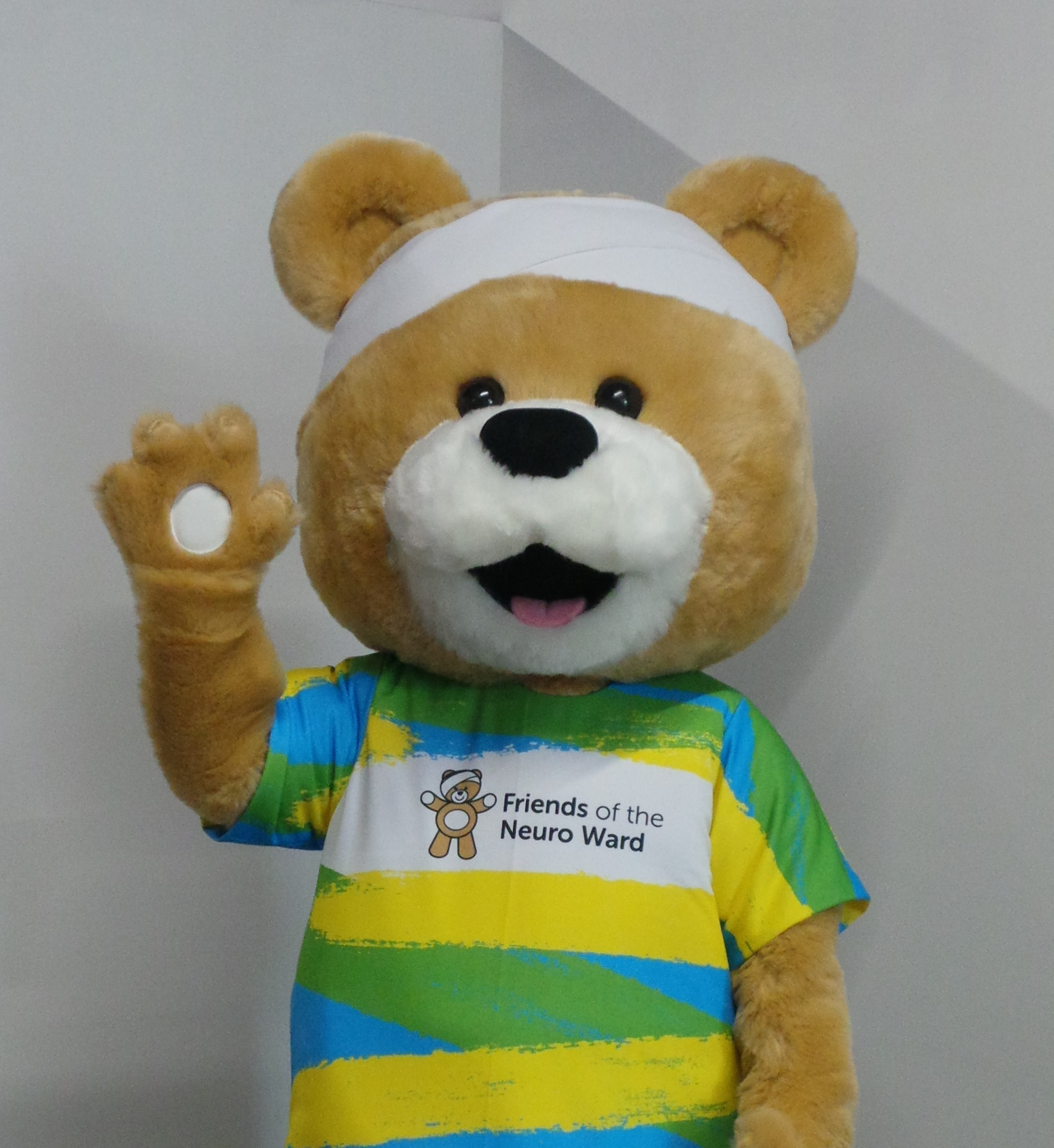 Name our mascot colouring competition