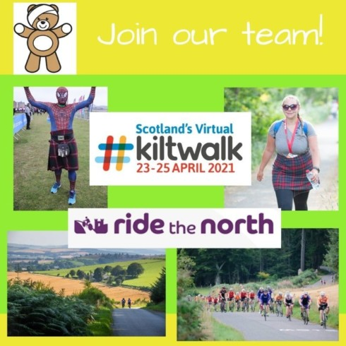 Get involved: Walk, skip, boogie or cycle for us in 2021!